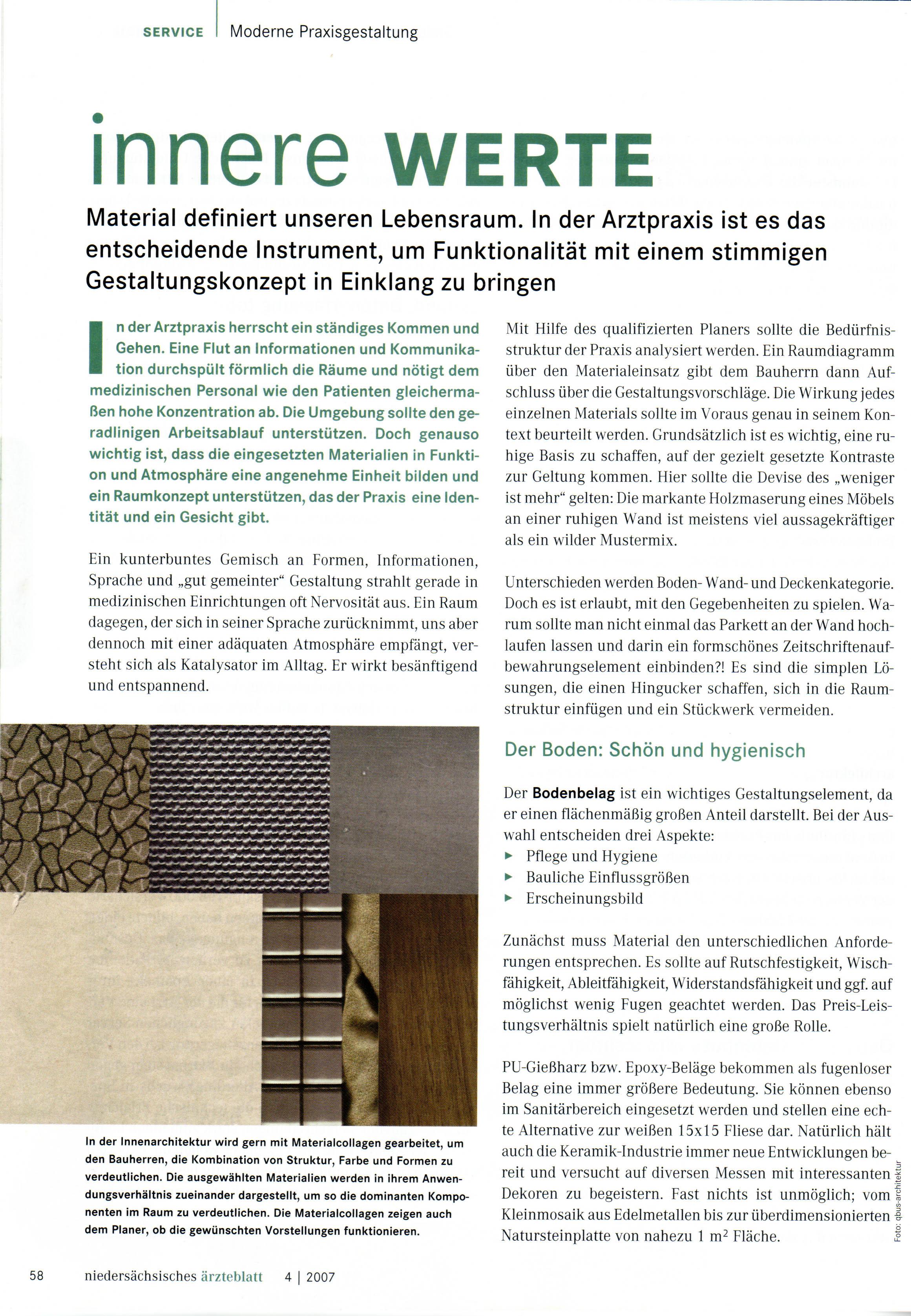 Publikationen   qbus - Architektur und Innenarchitektur