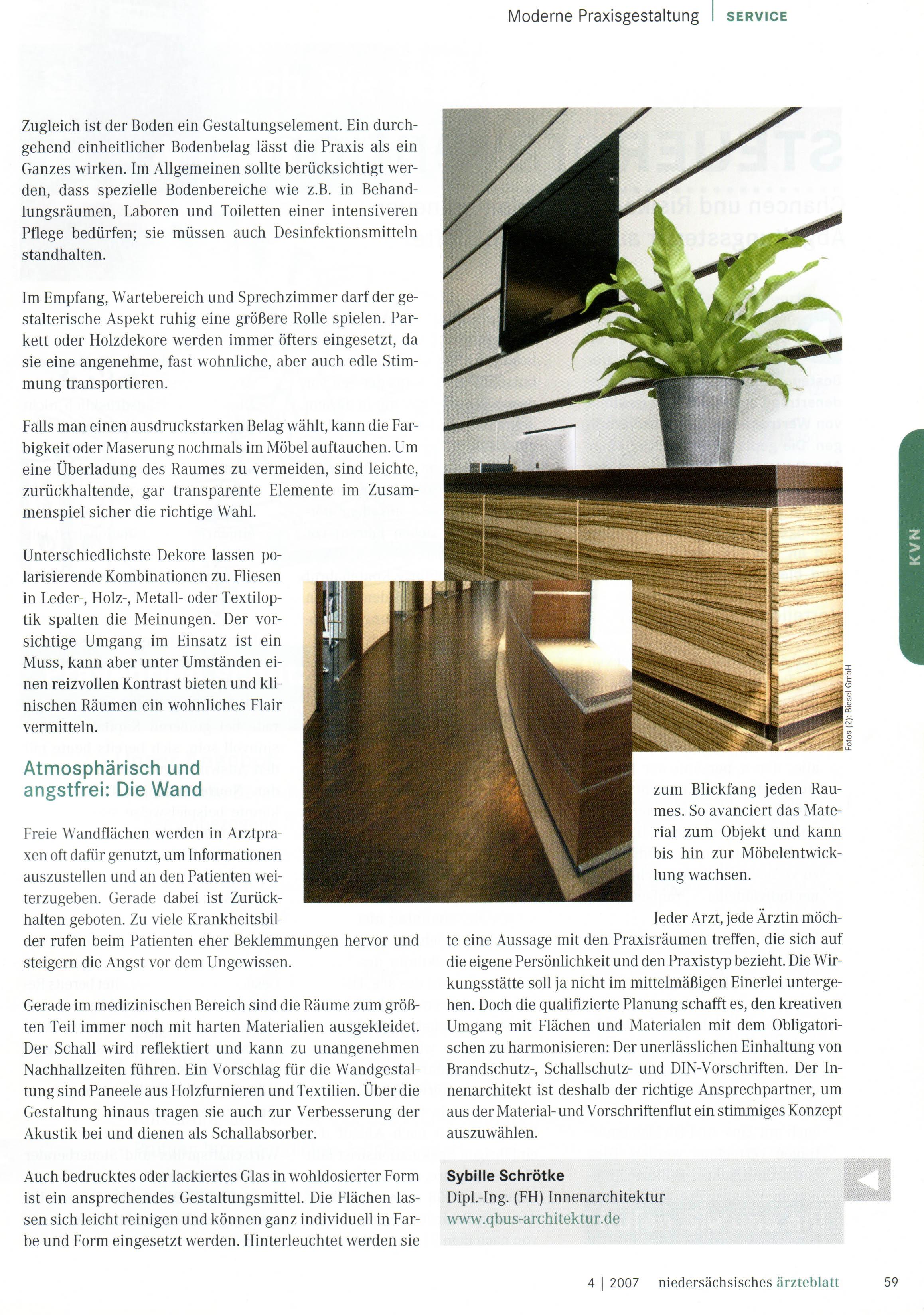 Publikationen | qbus - Architektur und Innenarchitektur